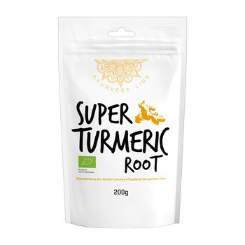 Diät Food, Bio Kurkuma, Pulver, 200 g