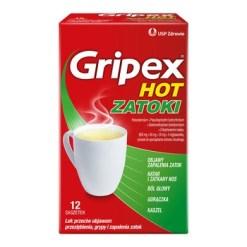 Gripex Hot Zatoki, Pulver zur Herstellung einer Lösung zum Einnehmen, 12 Beutel