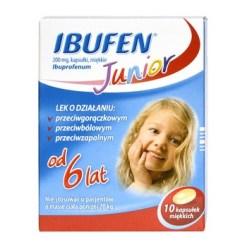 Ibufen Junior, 200 mg, Weichkapseln, 10 Stück