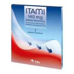 Itami, 140 mg, wirkstoffhaltige Pflaster, 5 Stk.2