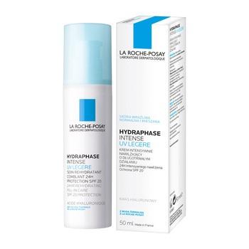 La Roche Posay, Hydraphase UV, Intense Legere, intensive Feuchtigkeitscreme, 50 ml