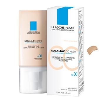 La Roche Posay Rosaliac CC, korrigierende Creme zur Pflege von Couperose-Haut, LSF 30, 50 ml