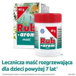 Rub Arom, Salbe, 40 g (Glas)