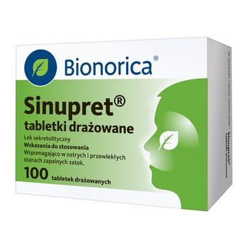 Sinupret, überzogene Tabletten, 100 Stk.
