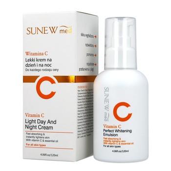 SunewMed +, leichte Tages- und Nachtcreme, 120 ml