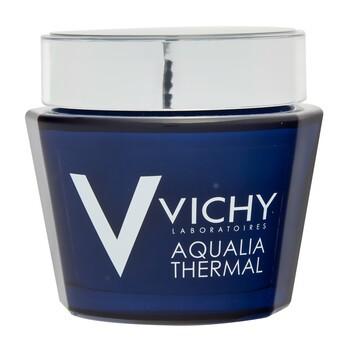 Vichy Aqualia Thermal Spa, feuchtigkeitsspendende und regenerierende Nachtgel-Creme gegen Müdigkeitserscheinungen, 75 ml