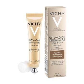 Vichy Neovadiol Gf Contours, Creme zum Glätten der Haut um Augen und Mund, 15 ml