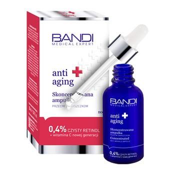 Bandi Medical Expert Anti-Aging, konzentrierte Anti-Falten-Ampulle, 0,4 reines Retinol und Vitamin C, 30 ml