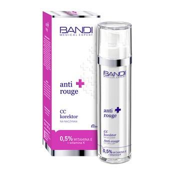Bandi Medical Expert Anti Rouge, CC Korrektor für Kapillaren, 0,5 Vitamin E + Vitamin K, 50 ml