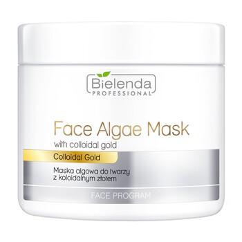 Bielenda Professional, Algen-Gesichtsmaske mit kolloidalem Gold, 190 g