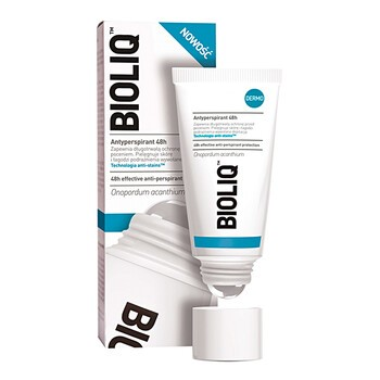 Bioliq Dermo, Antitranspirant 48h, Roll-on, 50 ml