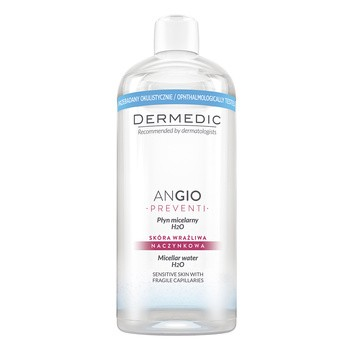 Dermedic Angio Preventi, H2O Mizellenwasser, 500 ml