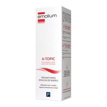 Emolium A-Topic, Drei-Wirk-Bad-Emulsion, 200 ml