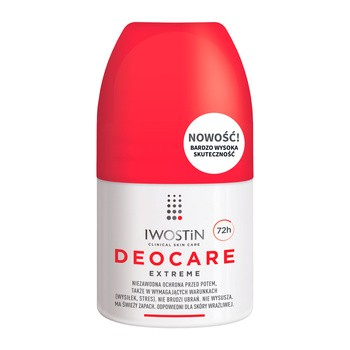 Iwostin Deocare Extreme Antitranspirant, 50 ml