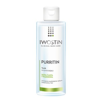 Iwostin Purritin, Reinigungstonikum, fettige Haut, 215 ml
