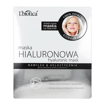 L Biotica Hyaluronic Mask auf Stoff, 23 ml