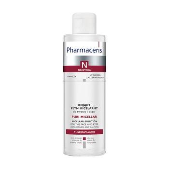 Pharmaceris N Puri-Micellar, Mizellenwasser zur Gesichts- und Augenreinigung und Abschminkung, 200 ml