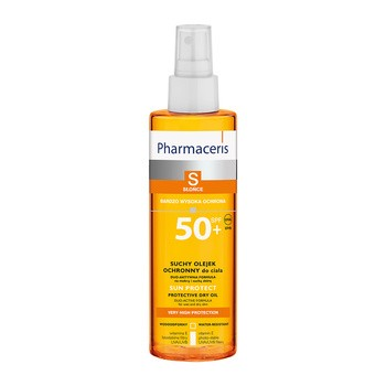 Pharmaceris S, trockenes schützendes Körperöl, LSF 50+, 200 ml