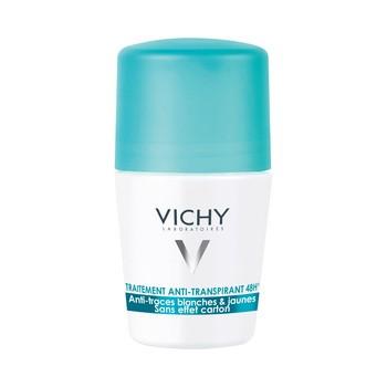 Vichy, Antitranspirant Roll-on 48h, Antiflecken auf Kleidung, 50 ml