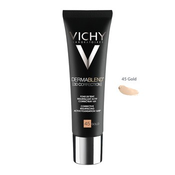 Vichy Dermablend 3D, Leveling Foundation, 45 Gold, 30 ml