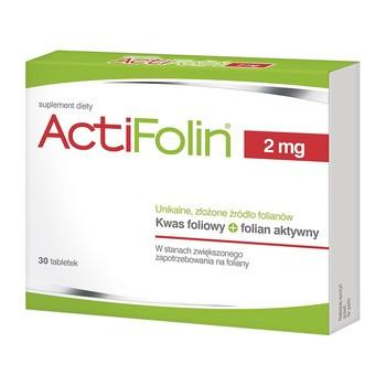 ActiFolin, 2 mg, Filmtabletten, 30 Stück