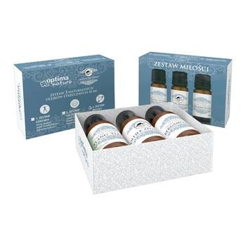 Aktionsset Optima Natura for Love, Ylang Ylang Öl, 10 ml Thieves Oil, 10 ml Bergamotte Öl, 10 ml