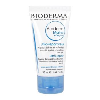 Bioderma Atoderm Mains Ongles, pflegende Hand- und Nagelcreme, 50 ml