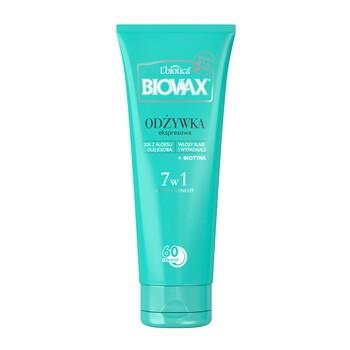 Biovax, BB 7in1 Express Conditioner für schwaches, ausfallendes Haar, 200 ml