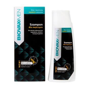 Biovax Men, Shampoo gegen Haarausfall, für Männer, 200 ml