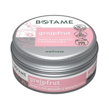 Botame Grapefruit, Sheabutter Massagekerze, 50 ml