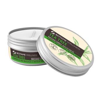 Botame Wellness Teebaum, Sheabutter Massagekerze, 50 ml