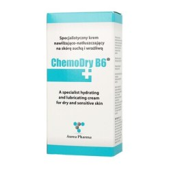 ChemoDry B6, Feuchtigkeits und Gleitcreme für trockene und empfindliche Haut, 50 ml