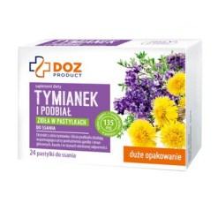 DOZ PRODUCT Thymian und Huflattich, Lutschtabletten, 24 Stk.