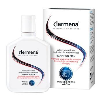 Dermena Hair Care, Men, Shampoo, das Haarausfall verhindert und das Nachwachsen der Haare stimuliert, 200 ml