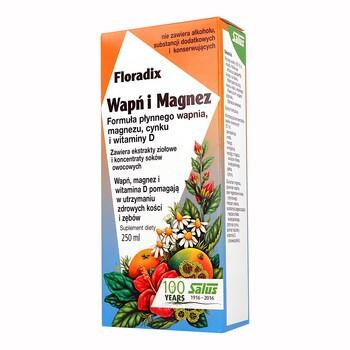Floradix Calcium und Magnesium, flüssig, 250 ml