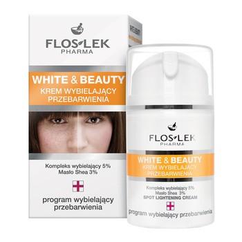 FlosLek Pharma White Beauty, Gesichtsaufhellungscreme, 50 ml
