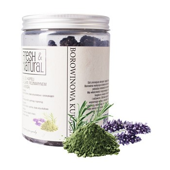 Fresh Natural Torfbehandlung, Salz mit Peloid, Algen, Rosmarin und Lavendel, 1000 g
