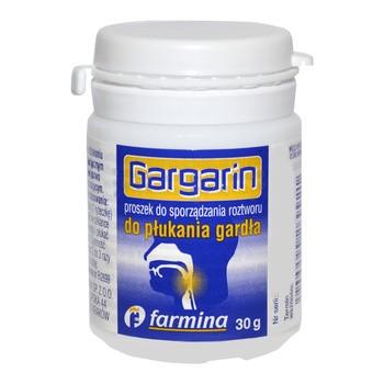 Gargarin, Pulver zum Gurgeln, 30 g