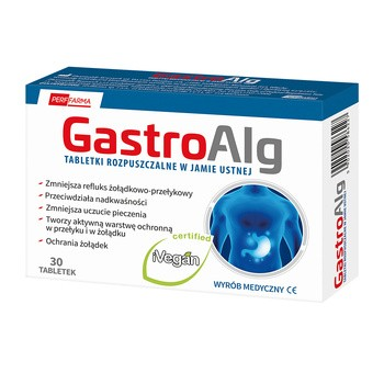 Gastroalg, Schmelztabletten, 30 Stk.
