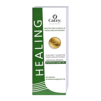 Healing Herbal, pflanzliches Anti-Schuppen-Shampoo, fettiges Haar, 200ml