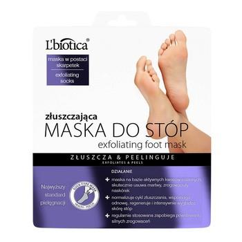 L Biotica Fußmaske, Peeling, 40 ml (getränkte Socken)