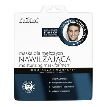 L Biotica, feuchtigkeitsspendende Stoffmaske für Männer, 23 ml