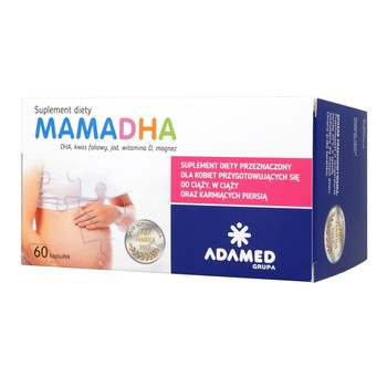 MamaDHA Premium+, Kapseln, 60 Stück