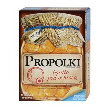 Zuckerfreie Propolki, Lutschtabletten mit Zitronengeschmack, 16 Stk.