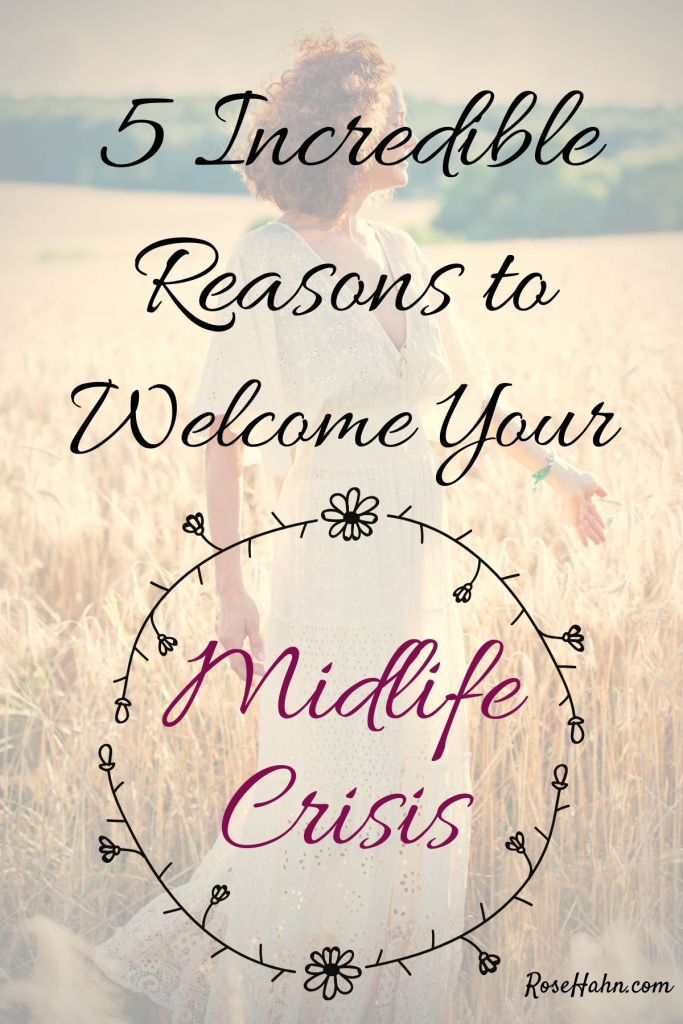 A Midlife Crisis can be a blessing. A rite of passage that brings empowering transformation and clarity to your life.