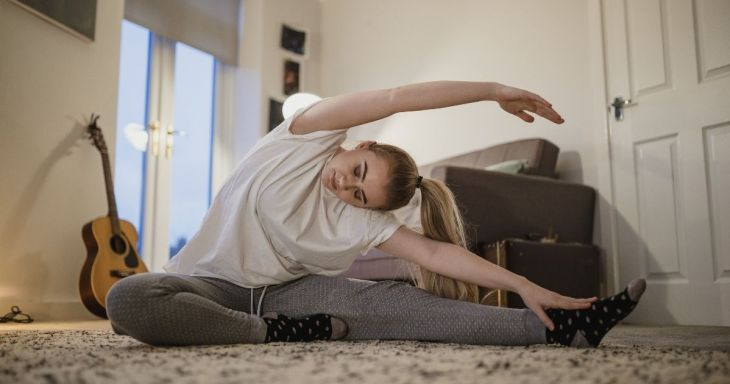 Yoga For Self Care Yoga Fix doesn't require much.