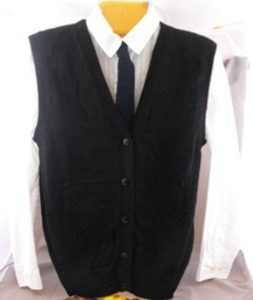 Mens AFCNA Button Down Vest