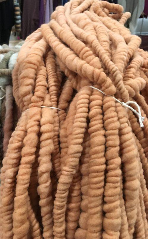 pumpkin popcorn yarn