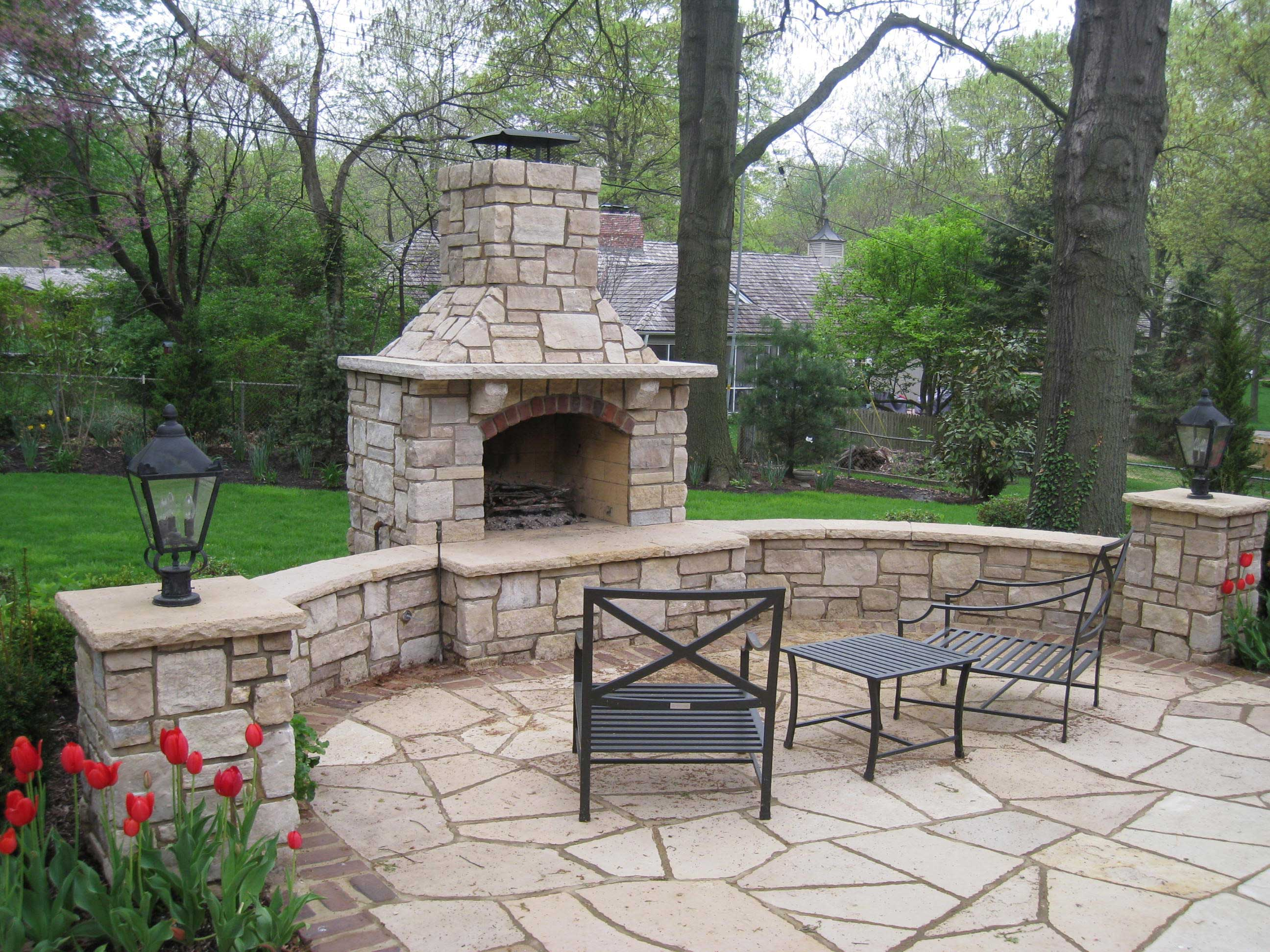 Enhance Your Yard with a Fire Pit or Fireplace in Kansas City on Fireplace In Yard  id=30865