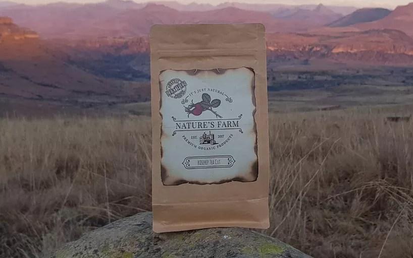 Natures farm rosehip tea